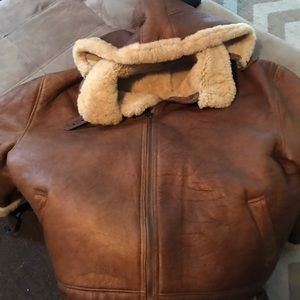 Jackets & Blazers - Genuine Shearling 100% leather coat